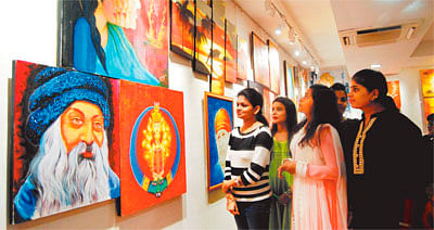 Kamli-2016 : Creativity of young artists on display