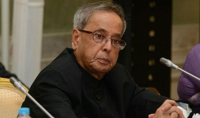 President Pranab Mukherjee condoles Kalikho Pul's death
