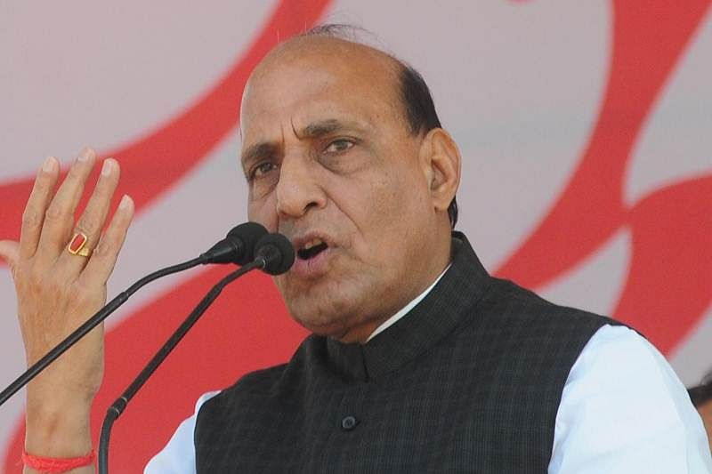 Rajnath takes on Pak, says no power can separate Kashmir from India