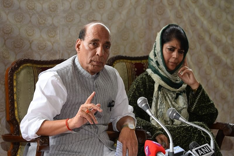 Uri Attack: Home Secy briefs Rajnath on Kashmir situation