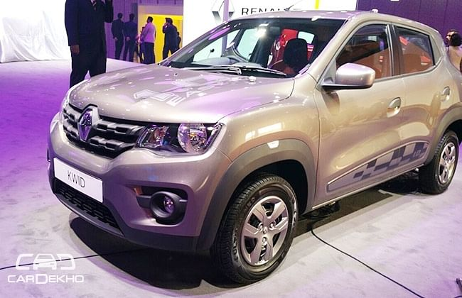 Renault Kwid 1.0-litre To Be Launched 'This Month'