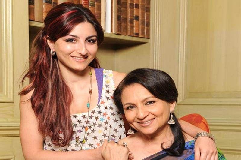 Soha Ali Khan shoots with Sharmila Tagore for TV show