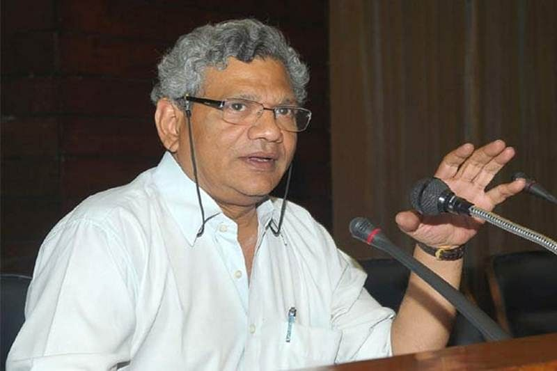 Start pol dialogue with all stakeholders in Kashmir: Sitaram Yechury