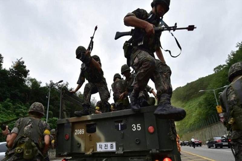 S Korea-US military drill shadowed by N Korea threats