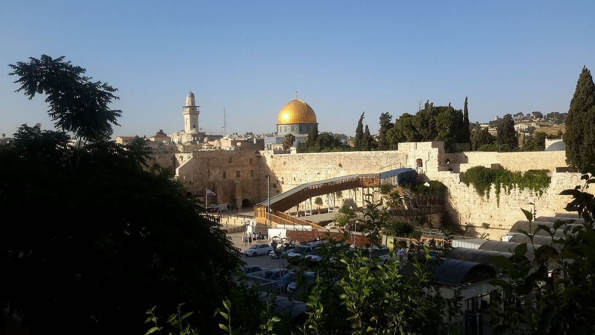 <strong>Dome of the Rock, Jerusalem old city</strong>