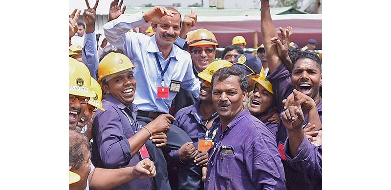 Nation welcomes 'Mormugao' vesselatMazagaon Dock