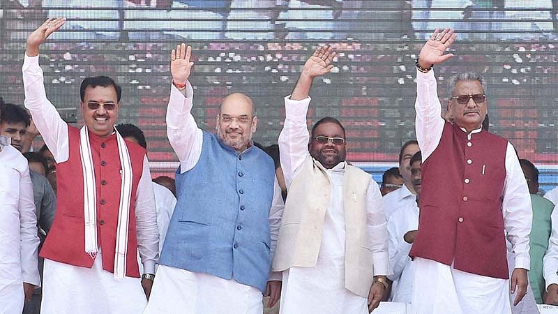 Amit Shah taunts SP over 'Mahabharat'
