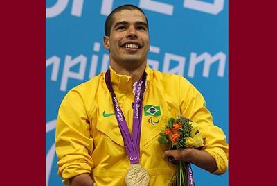 The new Phelps? No, he is Daniel Dias