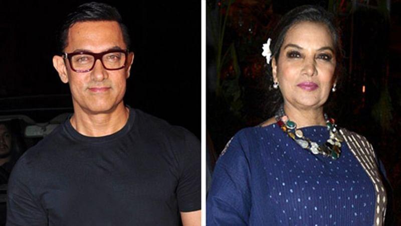Aamir Khan screens Dangal for Shabana Azmi