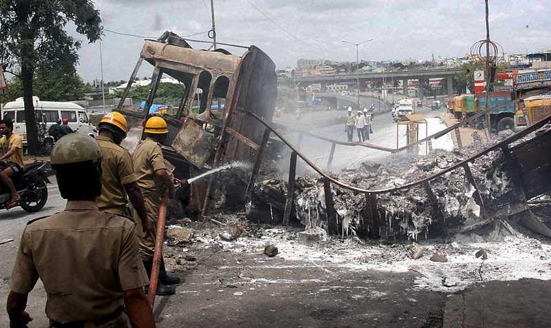 Cauvery water Issue: Workforce immobile in Karnataka