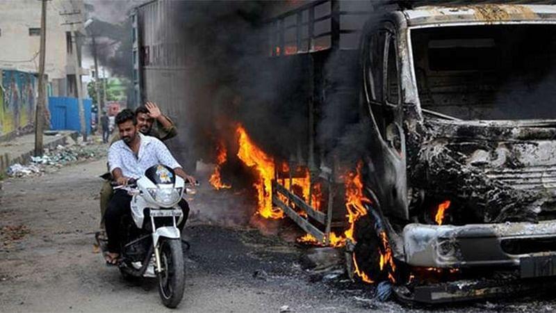 Rail blockade by Cauvery protesters foiled in Karnataka