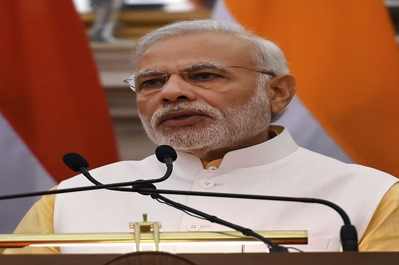 Modi highlights terrorism, signs maritime pact with Egypt