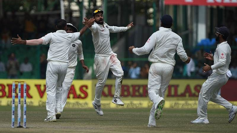 India 3 wickets away from winning first Test against NZ