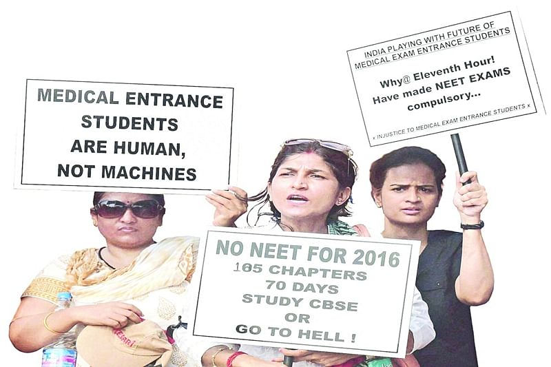 NEET: Parents of 'domicile' medical aspirants to approach High Court