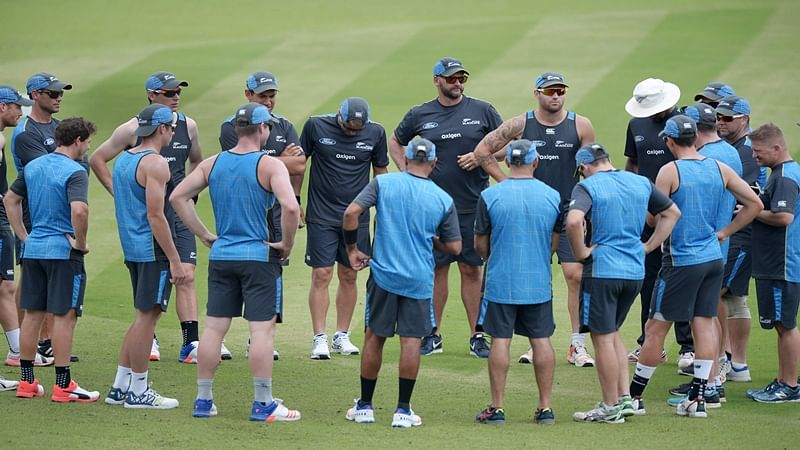 New Zealand takes tips from Ganguly ahead of 2nd Test at Eden