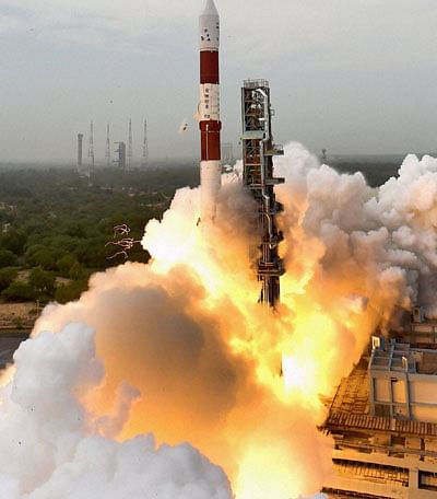 In Pics: ISRO's PSLV-C51 rocket launches Brazilian satellite Amazonia-1, carries copy of e-Gita and PM Modi's photo to space