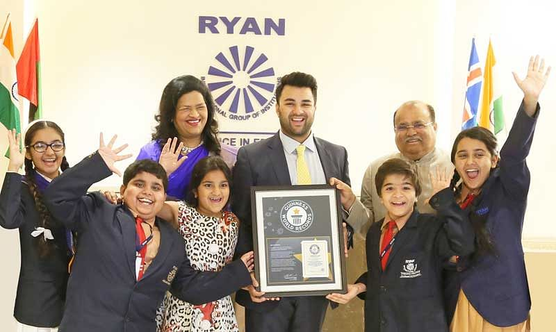 Ryan Group celebrates enters Guinness World Records