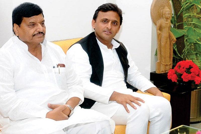 Akhilesh Yadav and uncle Shivpal Yadav call a truce and set differences aside