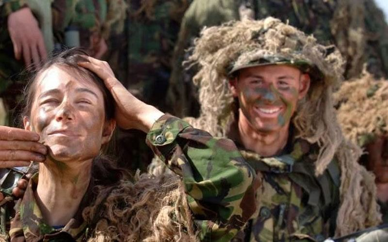 Transgender soldier First Woman On UK Army Frontline