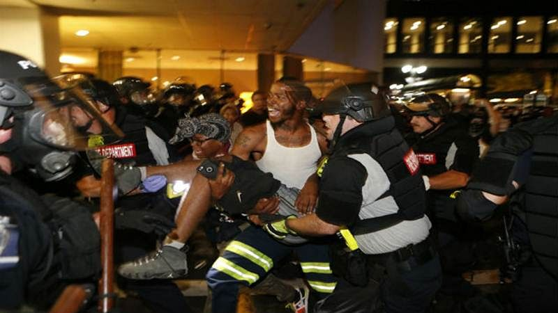 After police shooting, emergency declared in US city of Charlotte