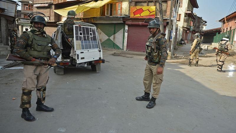 Security in Srinagar