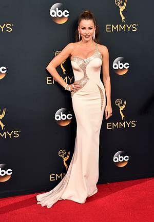 Actress Sofia Vergara attends the 68th Annual Primetime Emmy Awards.