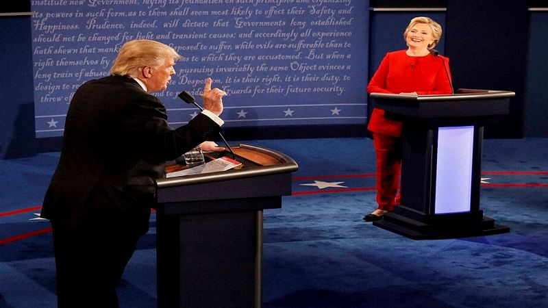Trump-Clinton presidential debate breaks Television record