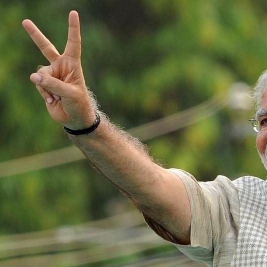 PM Modi gloats over maturing democracy