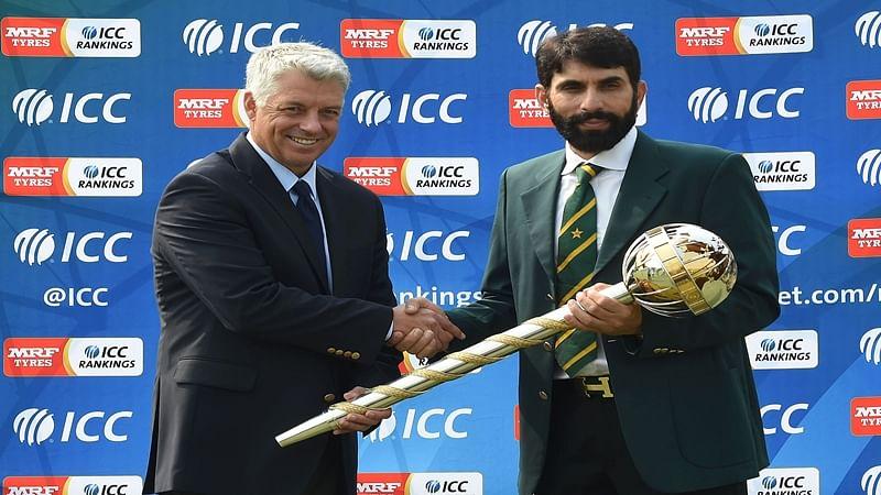 Pakistan awarded ICC Test Championship mace