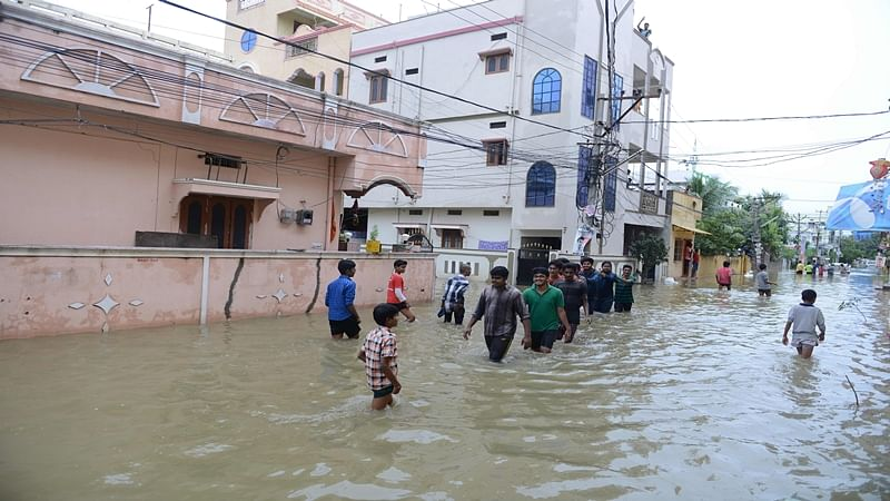 Hyd rains: KCR monitors situation; NDRF, Army kept on standby