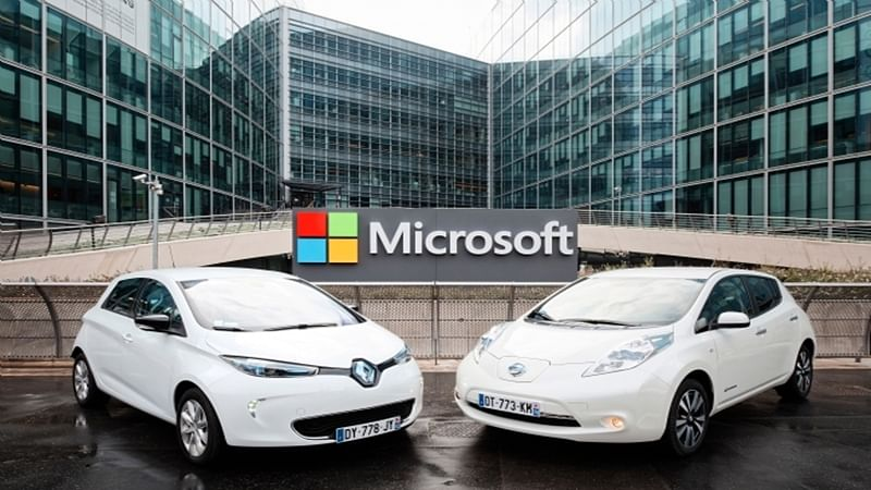 Renault-Nissan Partners With Microsoft To Work On Next-Gen Connected Driving