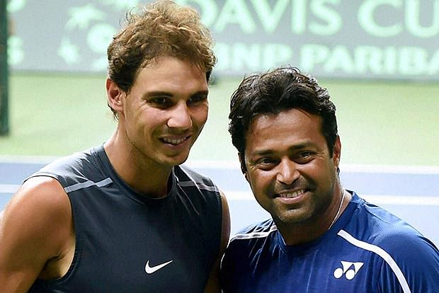 Paes finds a new pal
