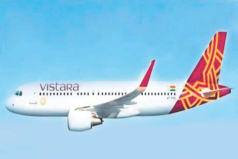 Vistara commences flight from Mumbai to Male