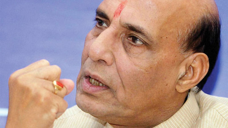 Just wait and watch: Rajnath Singh to Pak