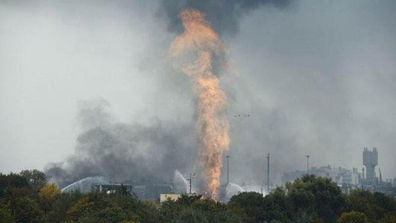 Blast in BASF chem plant triggers scare in Germany