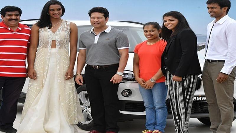 Dipa Karmakar not returning BMW car handed over by Sachin Tendulkar