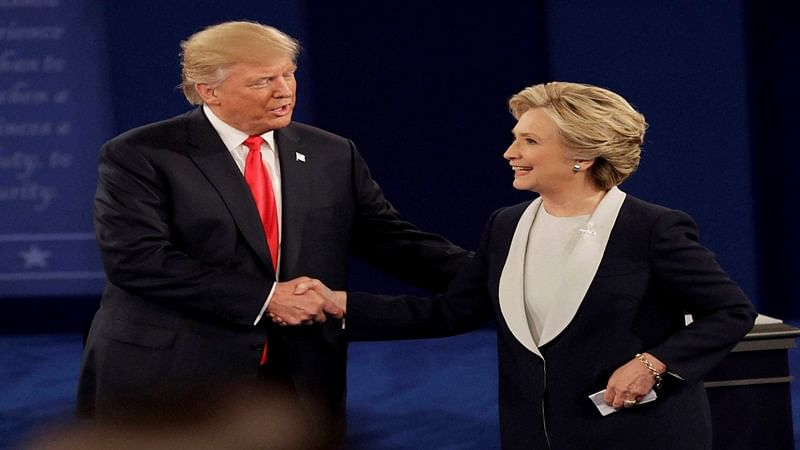 Donald Trump vows to jail Hillary Clinton, attacks Bill in 2nd debate