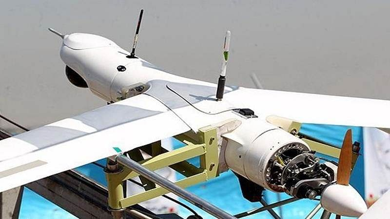 Iran unveils suicide drone which are capable of delivering explosives
