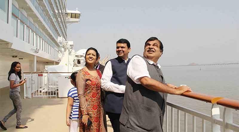 Gadkari stresses cruise tourism