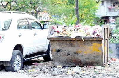 BMC's milch cow MP Nagar lackssanitation, parking facilities in Bhopal