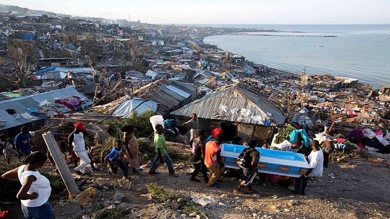 Hurricane Matthew death toll reaches over 400 in Haiti