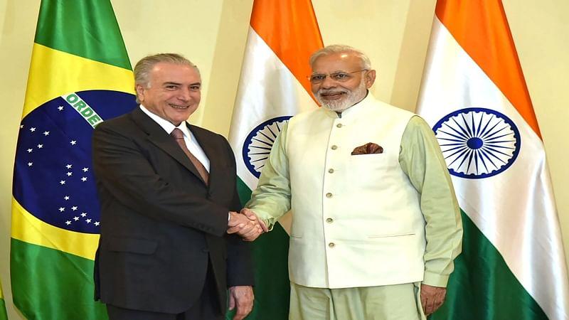 PM Narendra Modi thanks Brazil President for India's NSG bid