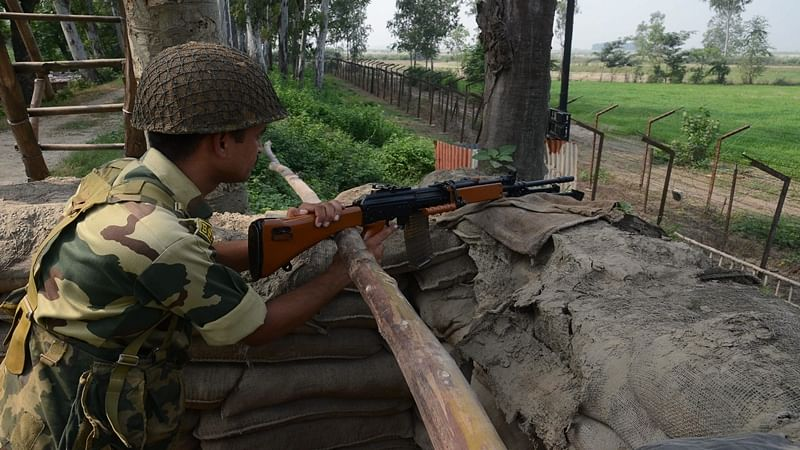 Ceasefire violation by Pak in Krishna Ghati sector again