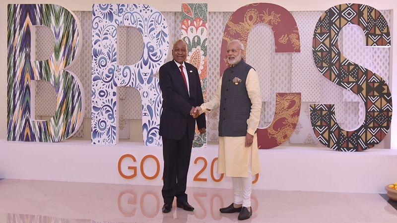 PM Narendra Modi meets Brazilian President Michel Temer