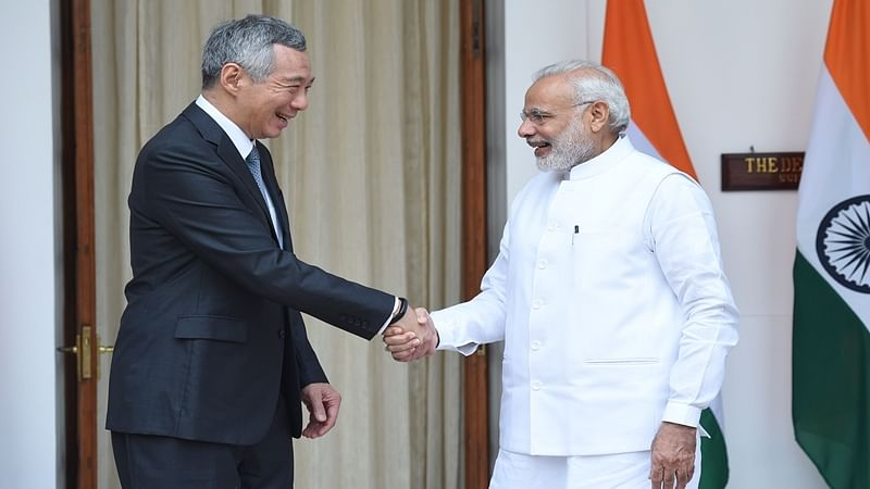 India, Singapore sign three agreements