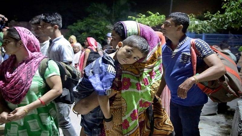 Jammu-Kashmir villagers fleeing their homes post surgical strikes
