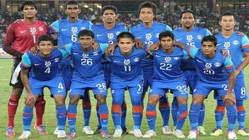 India climb one spot to 96 in latest FIFA rankings