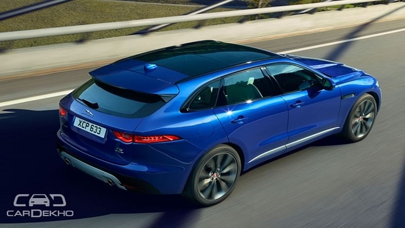Jaguar F-Pace prices announced; to be launched on October 20