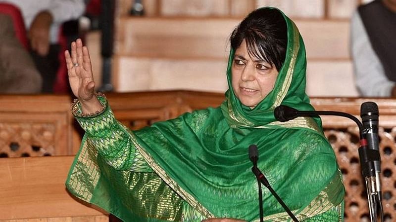 Jammu and Kashmir: Shun guns and stones, Mehbooba Mufti tells Kashmiris