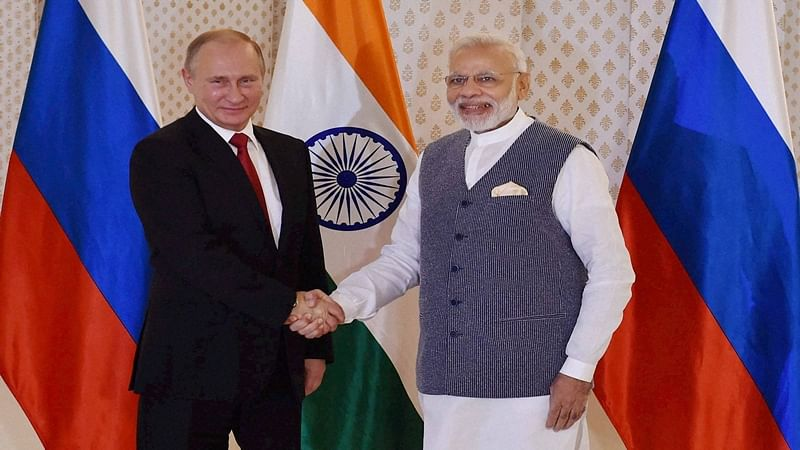 Old friend Russia part of India's anti-terror war: Narendra Modi